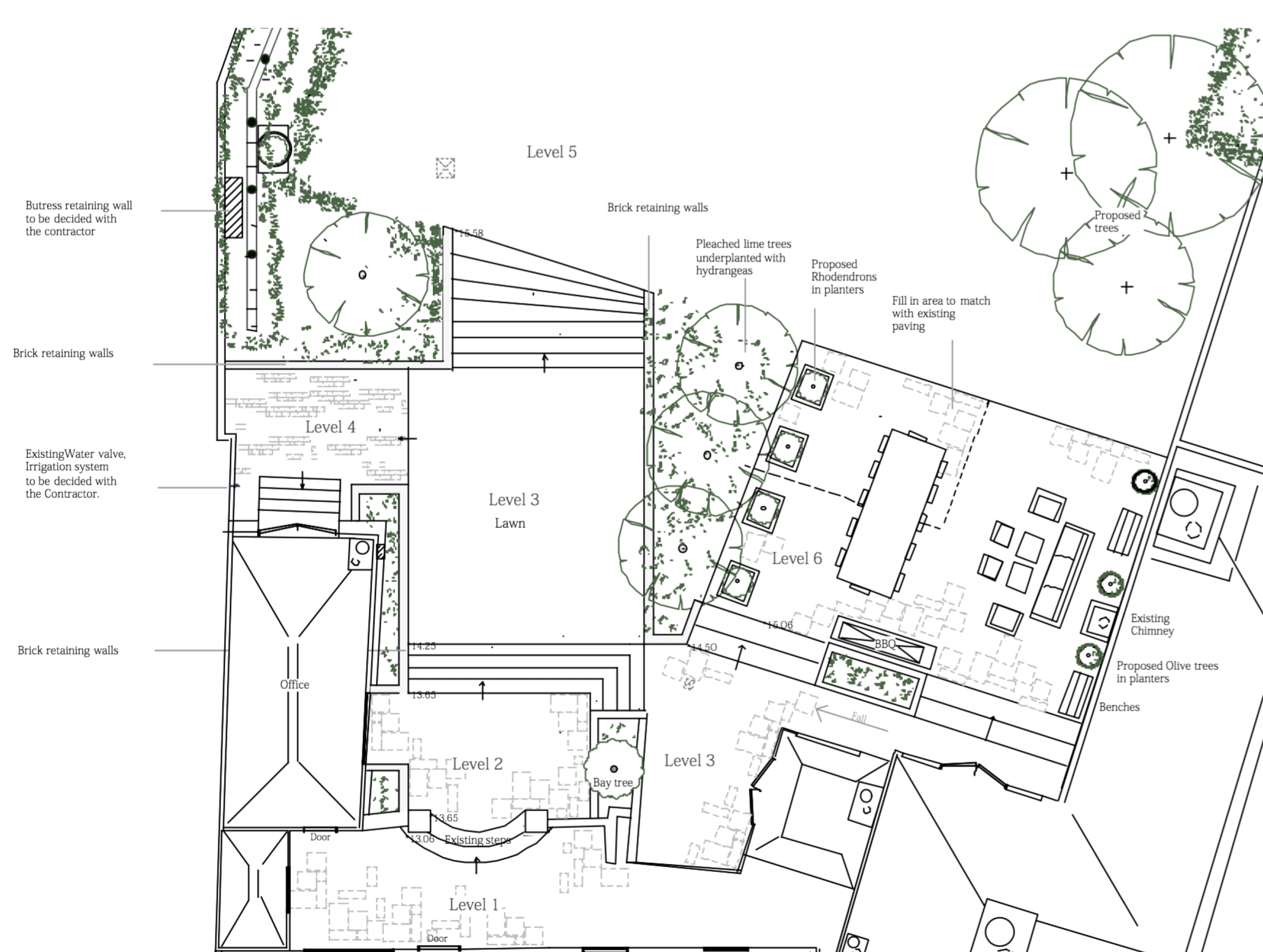 Art Of Drawing Garden Plans